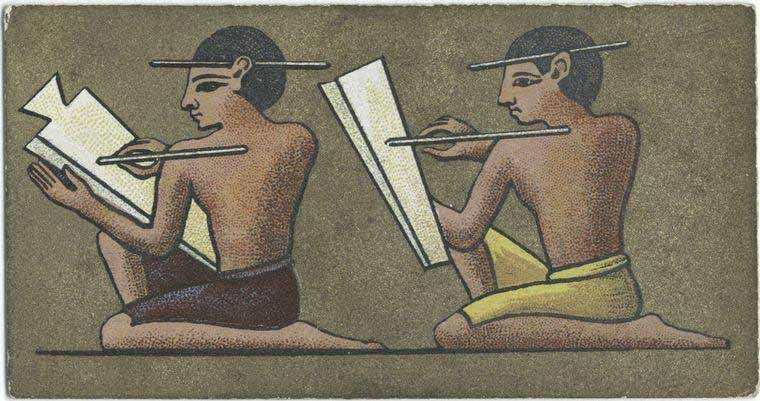 The Ancient Egyptian Scribe