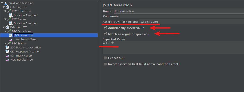 JSON Assertion